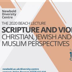 Upcoming online lecture: 'Scripture and Violence: Christian, Jewish, and Muslim Perspectives'